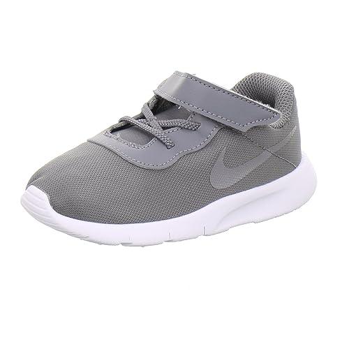 buy online 3e5bb 1ec1e Nike Tanjun (TDV), Chaussons Mixte bébé, Multicolore Gunsmoke/White 004,
