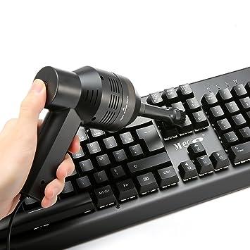 Meco Mini Aspiradora USB portátil teclado móvil industrial Sweeper limpio Kit para Nera la cepillo de polvo teclado: Amazon.es: Electrónica