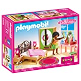 Playmobil 5309 Dollhouse Master Bedroom with Functional Bedside Lights