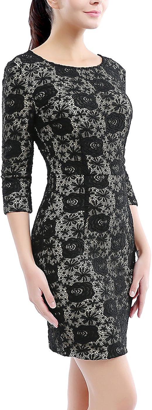 phistic Womens Lace Sheath Dress Regular /& Plus Size