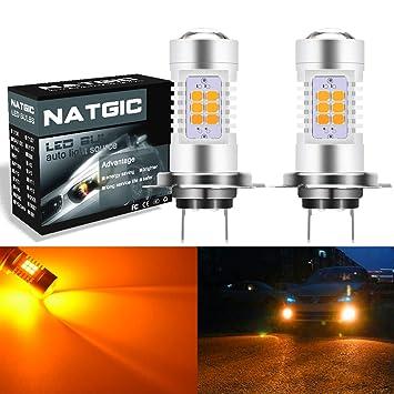 Bombillas LED H7 para coche de NGCAT, repuesto para luces antiniebla y de circulación diurna