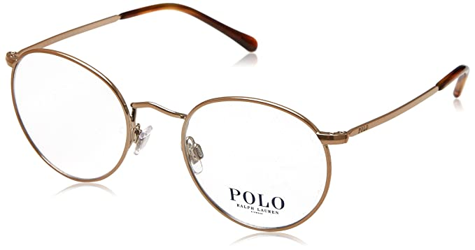 d70a3b96e7 Polo Men s PH1179 Eyeglasses Dark Rose Gold 48mm at Amazon Men s ...