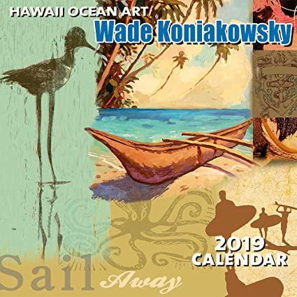 Amazon Com Hawaii 2019 Deluxe Wall Calendar 2019 Calw The Art