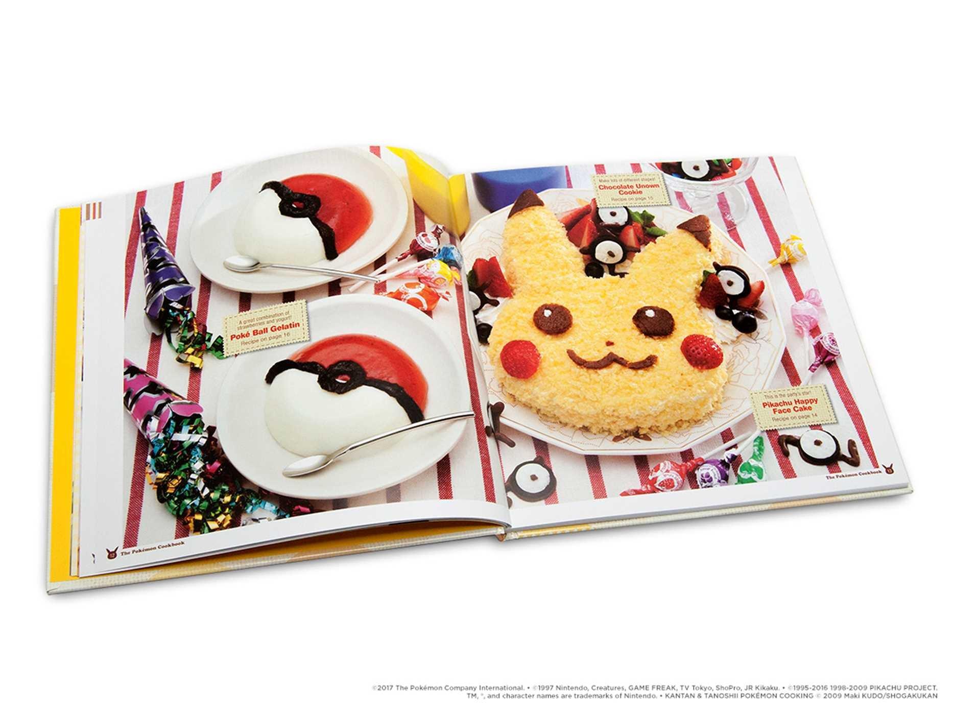 Amazoncom The Pokémon Cookbook Easy Fun Recipes Pokemon