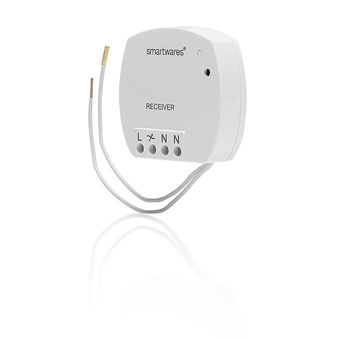 Smartwares SmartHome Mini Funk-Einbauschalter 400 W, SH5-RBS-04A ...