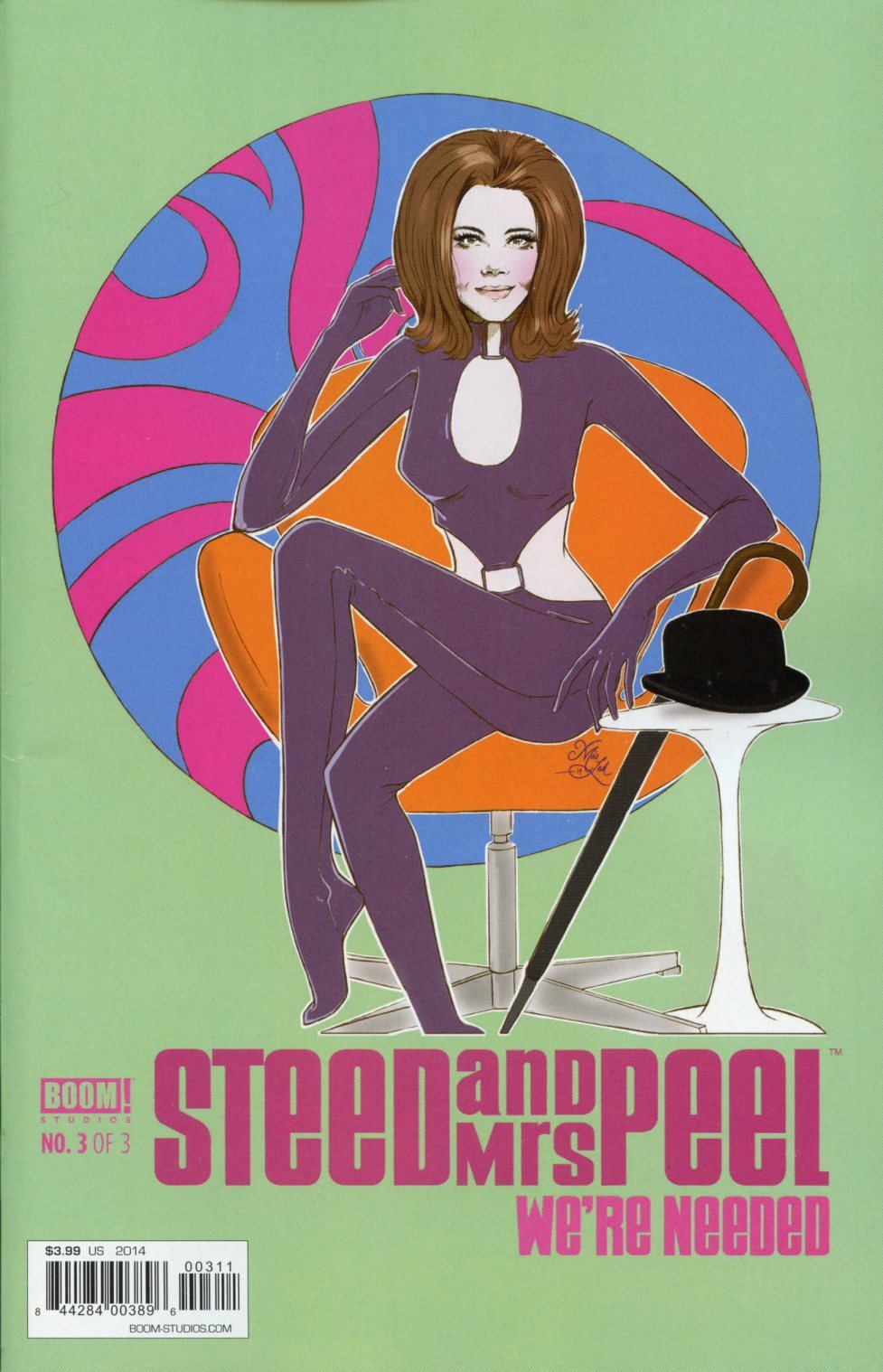 Download Steed and Mrs. Peel We're Needed #3 PDF