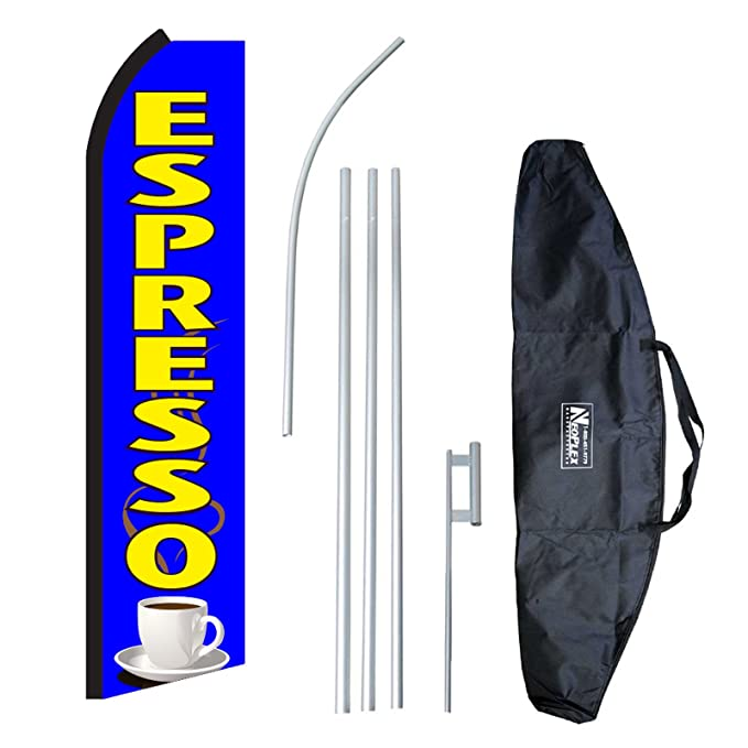 three METRO PCS AUTHORIZED DEALER ppl//wh 15 Swooper #8 Feather Flags KIT 3