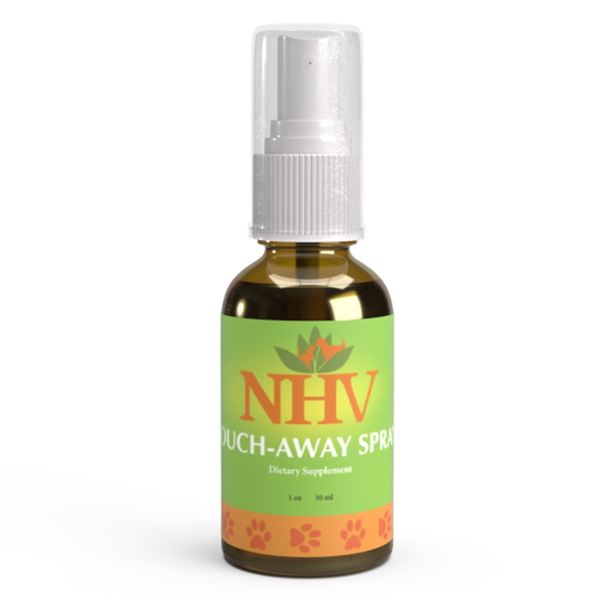 Aid for Dermatitis, Skin Infections and Irritations in Cats and Dogs: NHV Ouch Away Spray