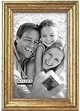 Malden International Designs Classic Wood Picture Frame,4x6, Gold