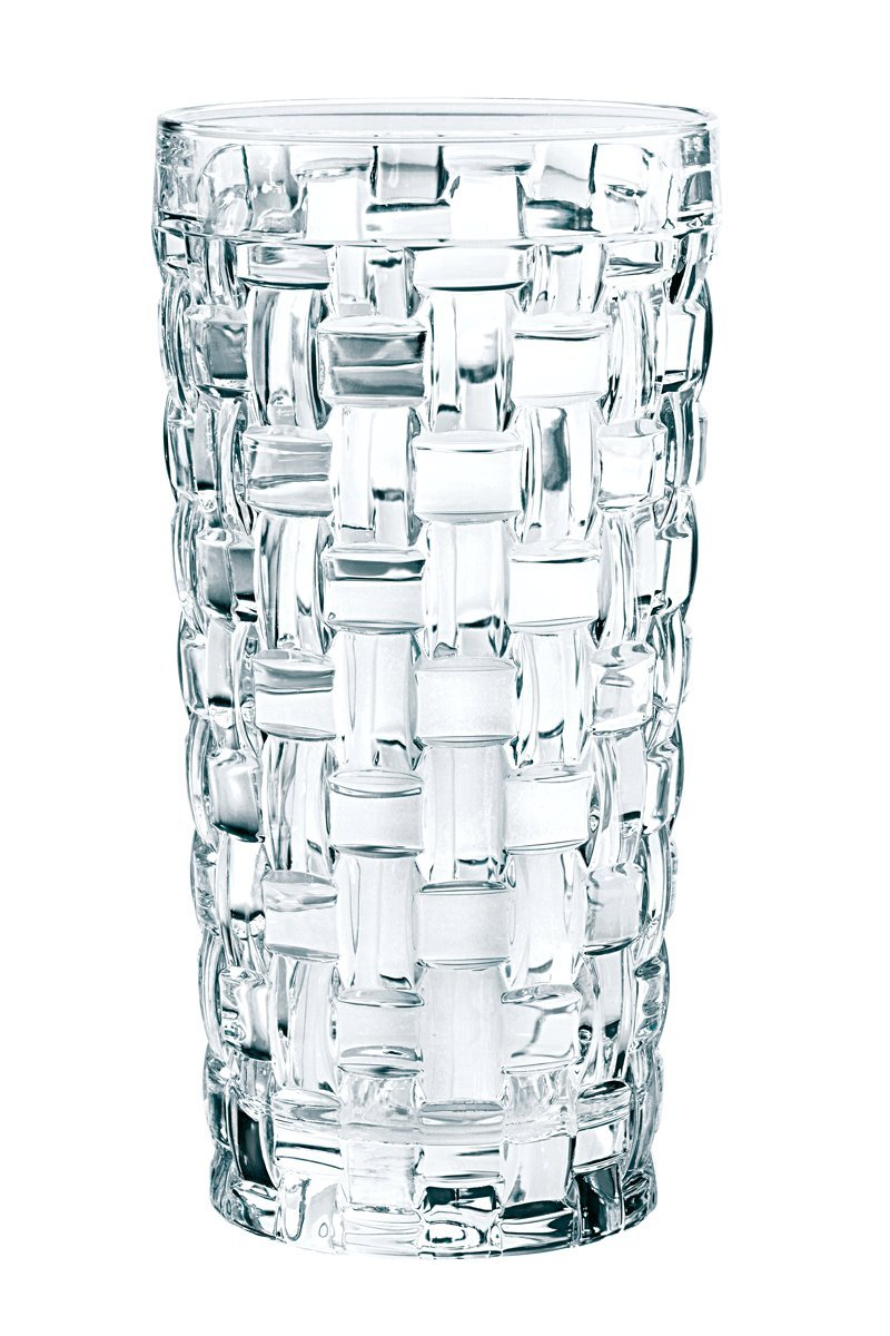 Nachtmann Dancing Stars Bossa Nova Long Drink Glasses, Set of 4 by Nachtmann Crystal