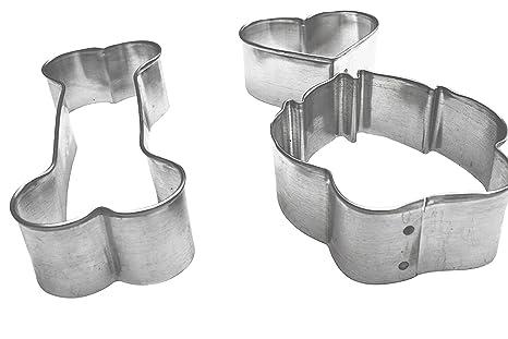Crear orgánico para galletas de perro con 3 moldes, silicona para horno bandeja & Orgánico