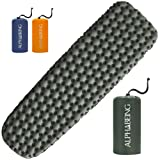 AlphaBeing Camping Sleeping Pad for Backpacking, Hiking, Ultralight Inflatable Air Mattress Waterproof Compact Sleep Mat