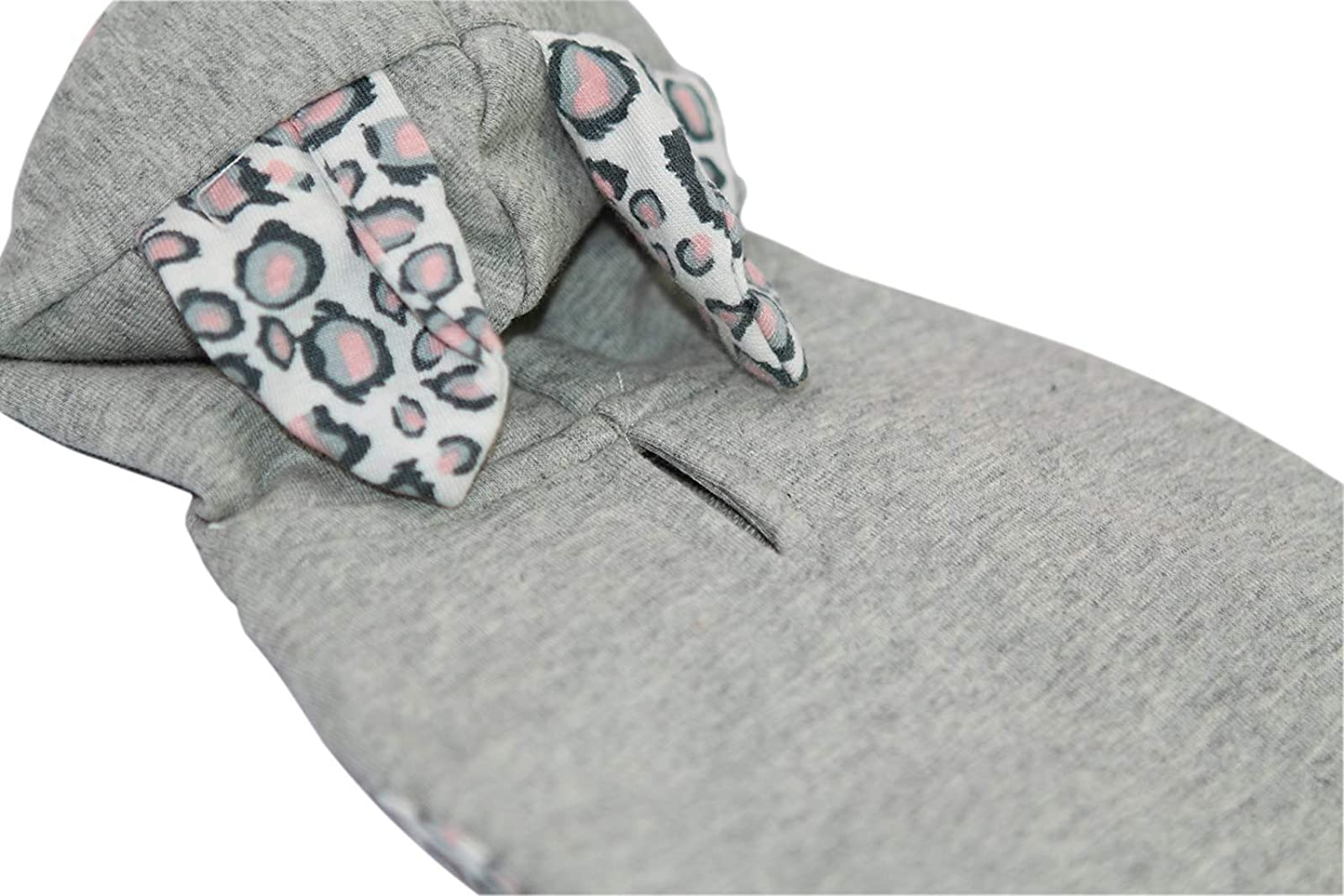 Puppy Face Leopard Tail Dog Hoodie Dog Grey Small/Medium - 4
