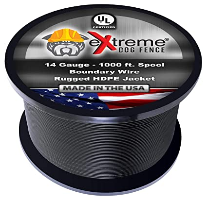 Amazon dog fence wire pure copper 1000 feet of 14 gauge 044 dog fence wire pure copper 1000 feet of 14 gauge 044 professional grade electric greentooth Images