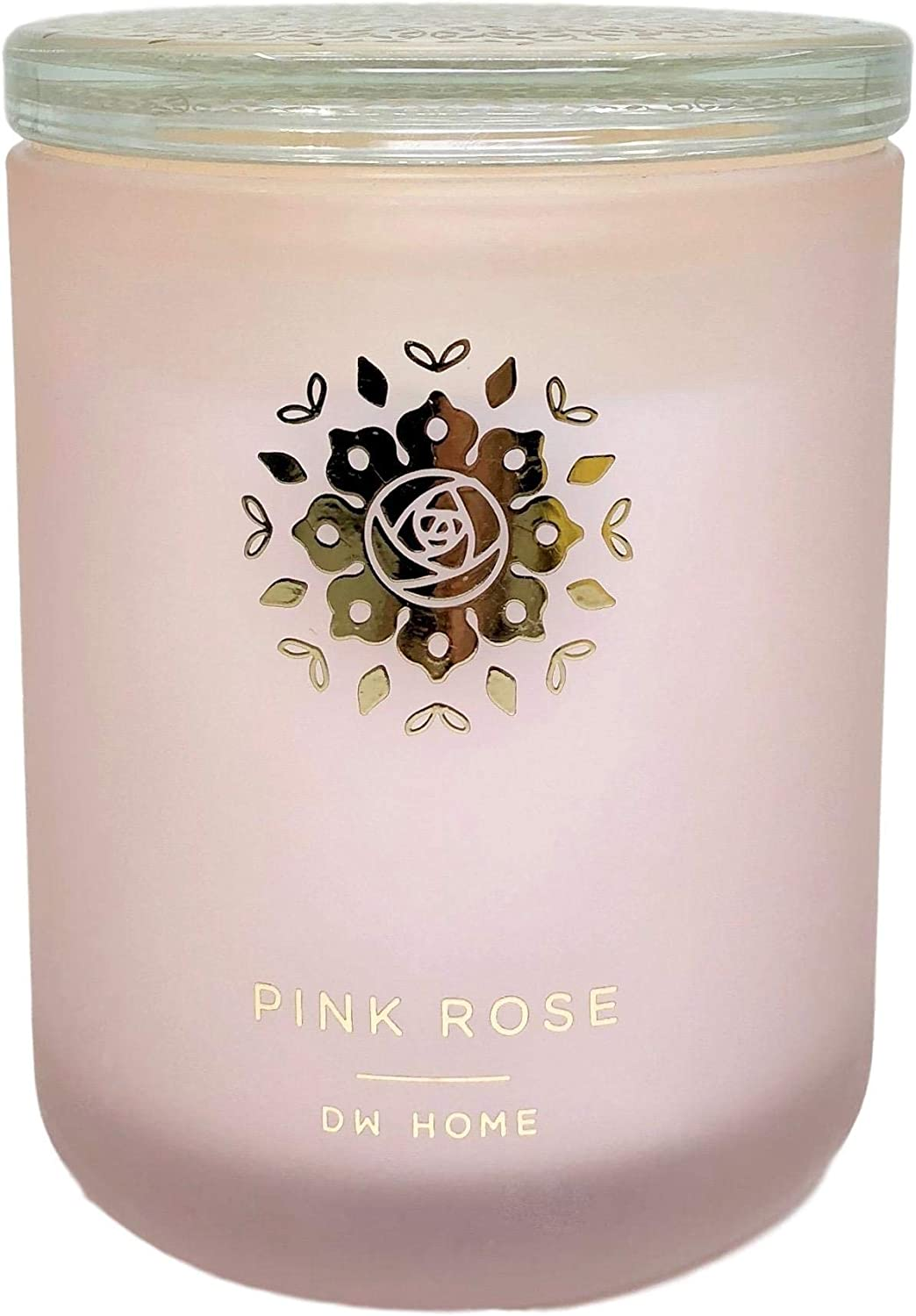 DW Home Pink Rose Scented Candle