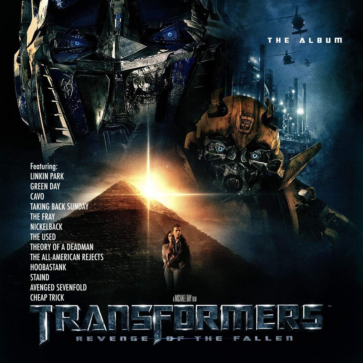 Transformers - Revenge Of The Fallen Soundtrack (2LP Green Vinyl) (RSD Exclusive 2019)