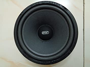 Crispy Deals ATOZ 9-inch Bass Speaker 9 Ohm 9-9Watts (Ramp Audio Cone)