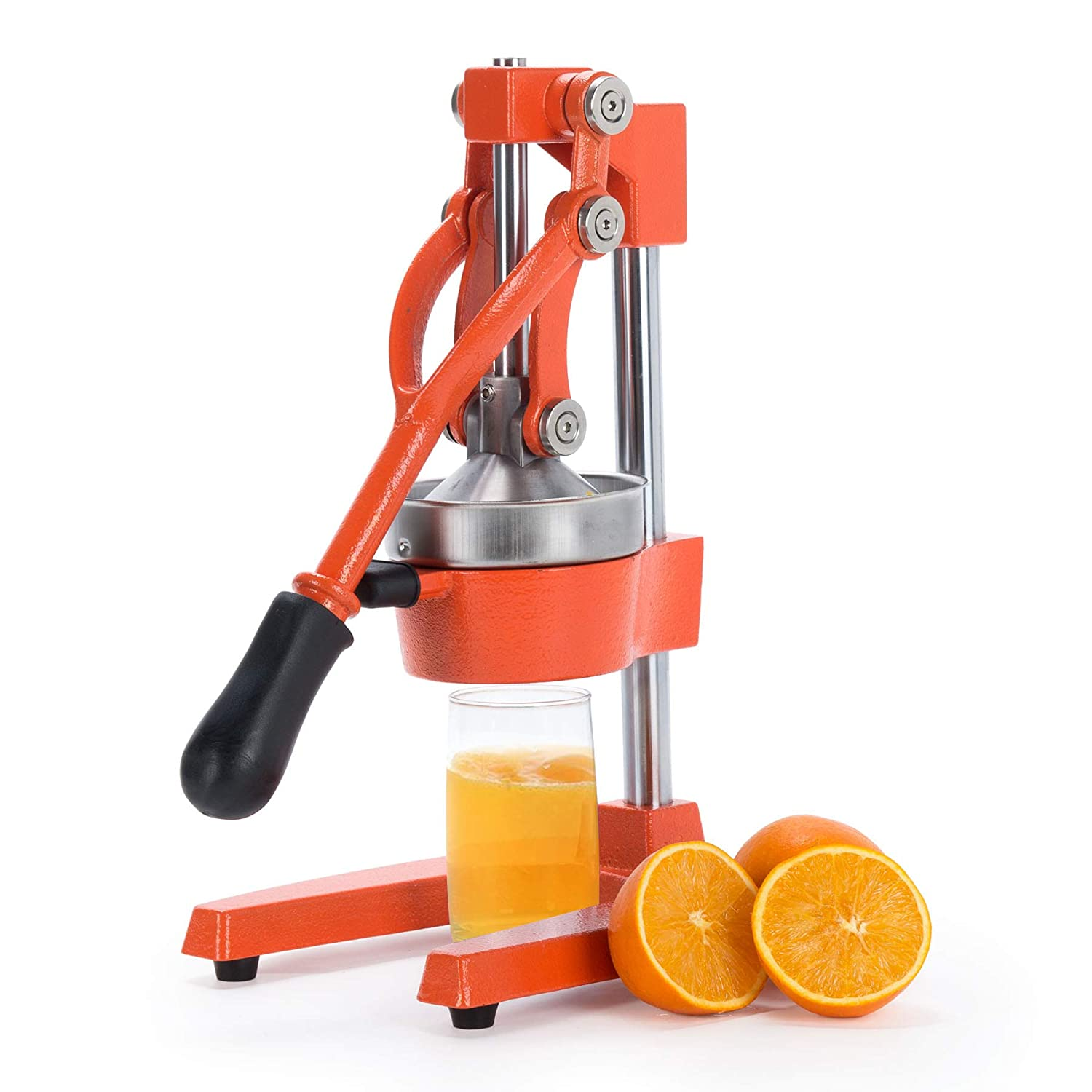 CO-Z Commercial Grade Citrus Juicer Hand Press Manual Fruit Juicer Juice Squeezer Citrus Orange Lemon Pomegranate (Orange)