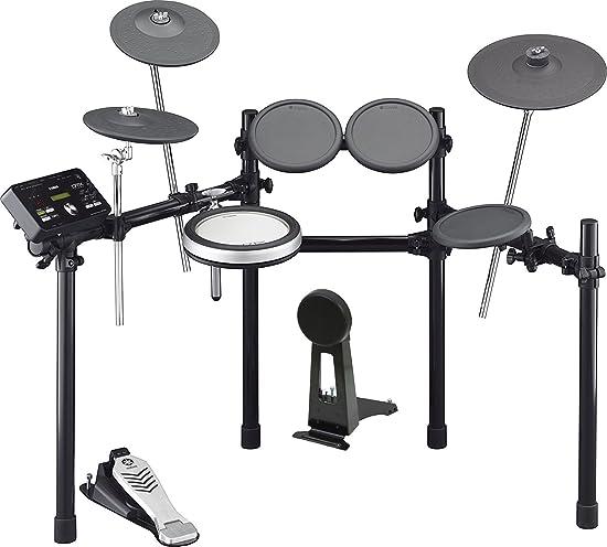 front facing yamaha dtx522k electronic drum set