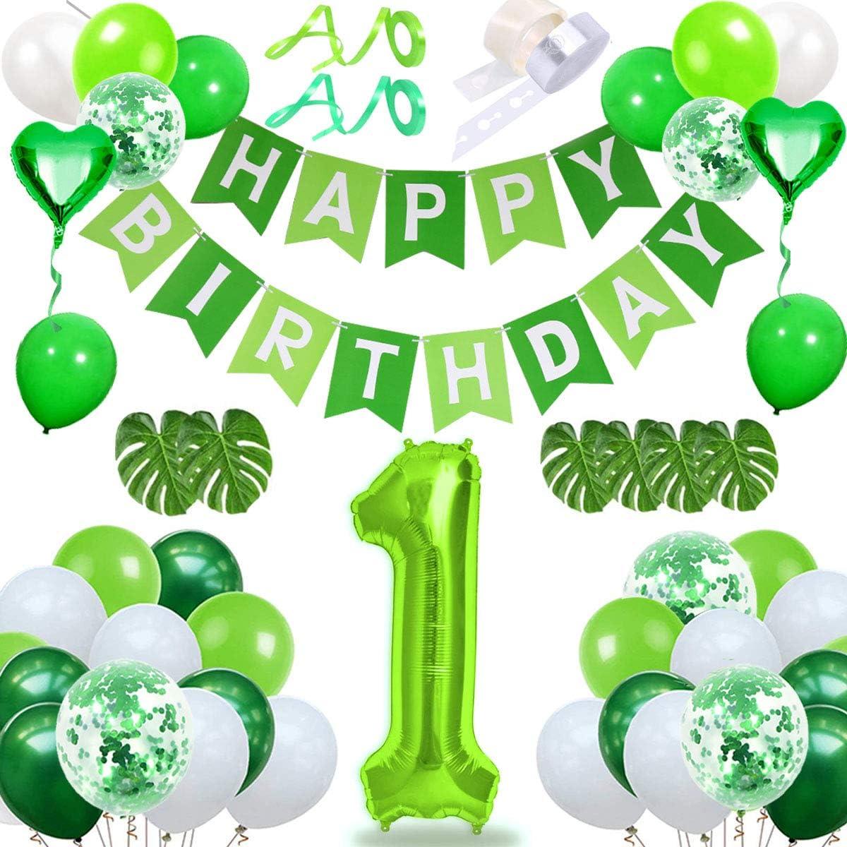 Folienballon Ballon Baby Geschenk 1ST BIRTHDAY Geburtstag Party Deko Nummer 1