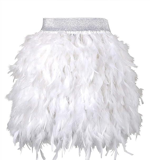 4475b053a keland Faldas de Mujer para Plumas verdaderamente Naturales, Fiesta ...