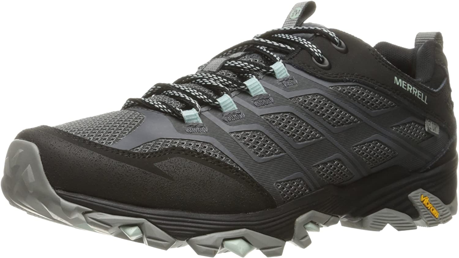 merrell moab fst waterproof mens wall