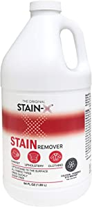 Stain-X Cleaner | Effective Stain Remover for Laundry, Carpet, Clothing, Upholstery and Other Washable Fabrics (64 oz)