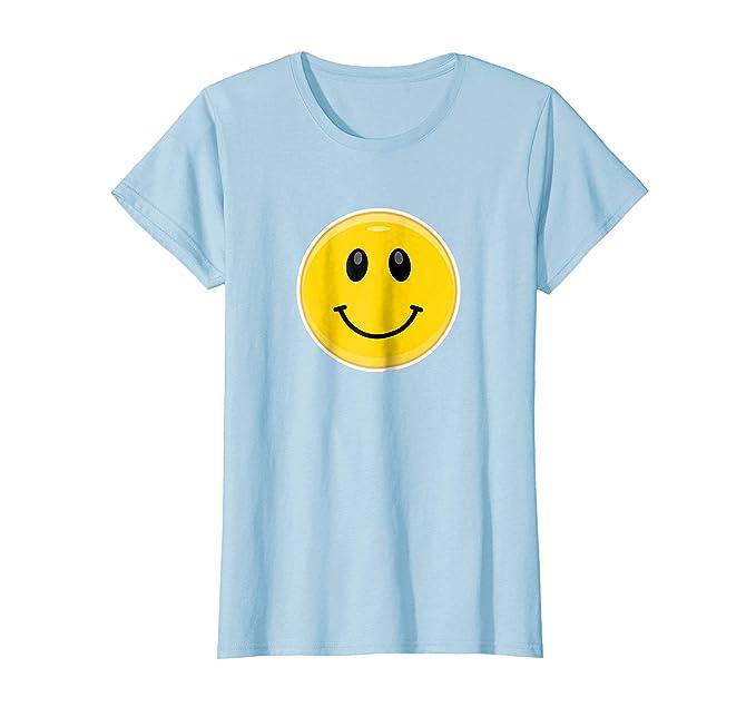 Amazon Com Smile Emoji Face Smiley Emoticon T Shirt Clothing