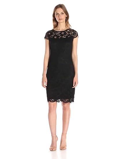 Amazon Lark Ro Womens Cap Sleeve Lace Dress Clothing