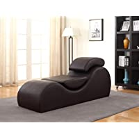 Container Furniture Direct Upholstered Stretch & Relaxation Chaise Lounge