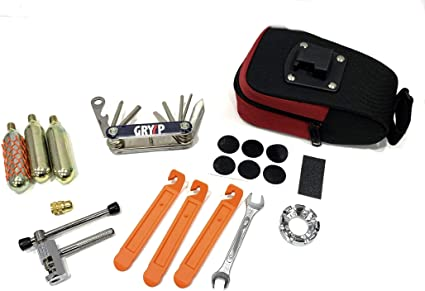 GRYYP - Kit de Herramientas y reparapinchazos para Bicicleta con ...