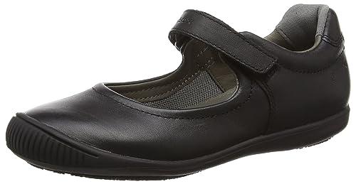 Geox J Gioia 2fit A, Bailarinas con Correa de Tobillo para Niñas: Amazon.es: Zapatos y complementos