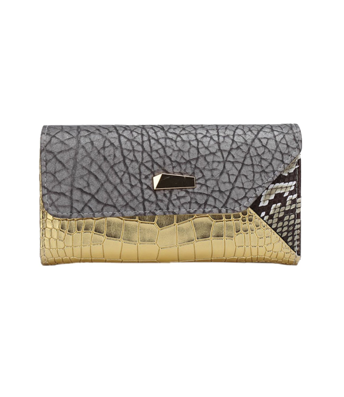 DOBRING Women's top fashion classical style wallet purse card holder