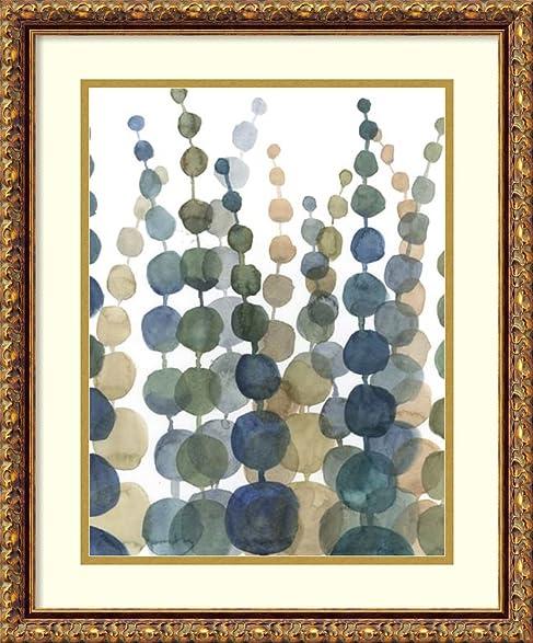Amazon.com: Framed Art Print \'Pompom Botanical II\' by Megan Meagher ...