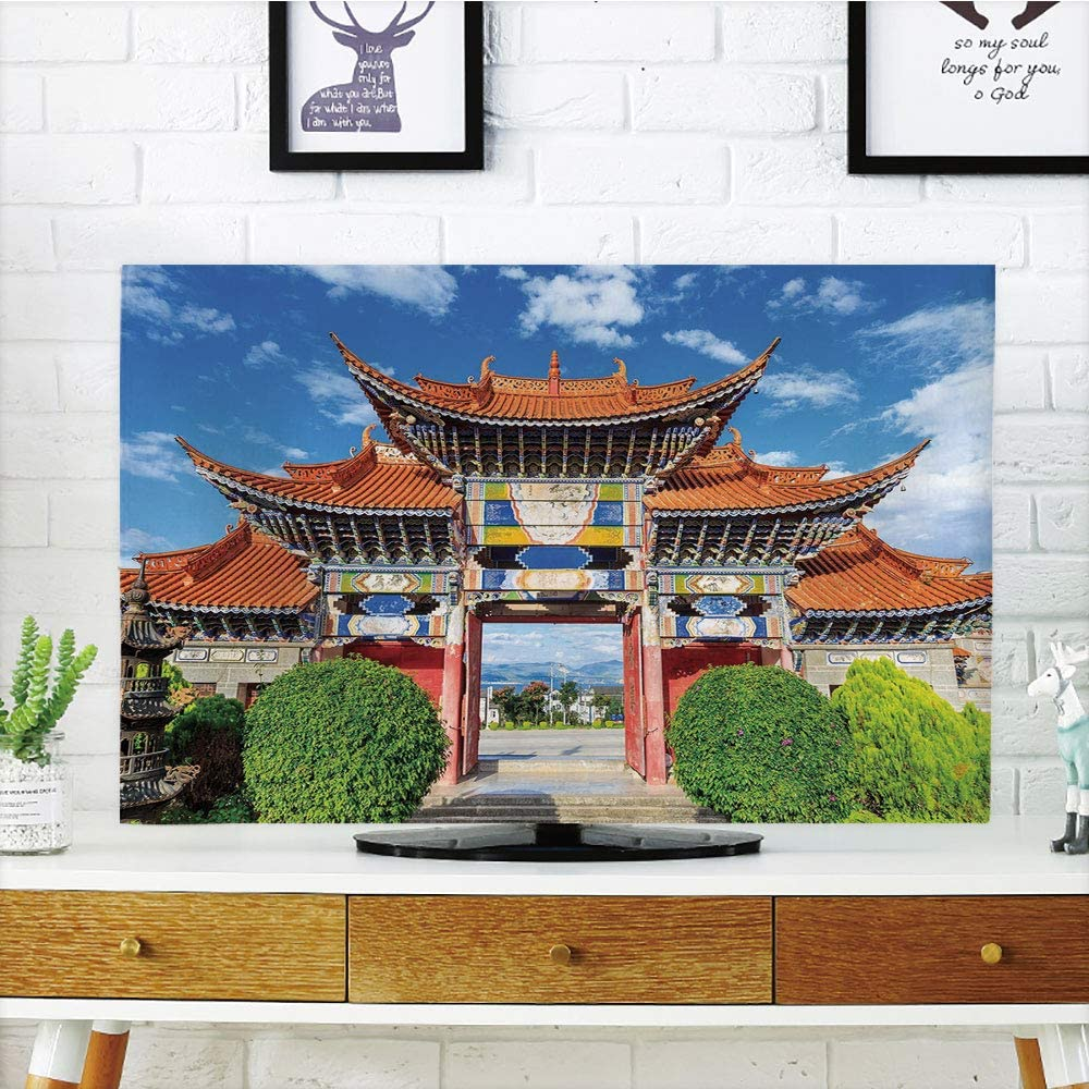 Cubierta de polvo para televisor LCD personalizable, decoración ...