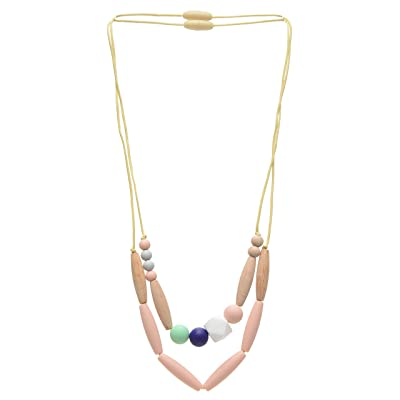 Chewbeads Brooklyn Collection Metropolitan Necklace - Blush: Toys & Games [5Bkhe0204379]