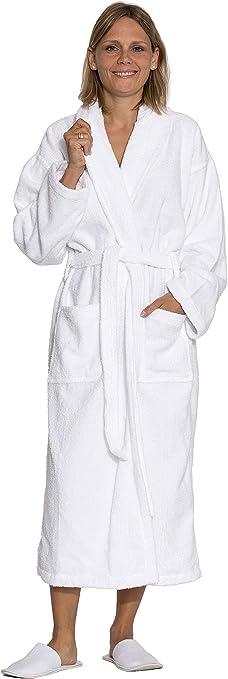 TALLA XXL. ZOLLNER Albornoz de Ducha para Hombre y Mujer, Tallas XS-6XL, 100% algodón, 020