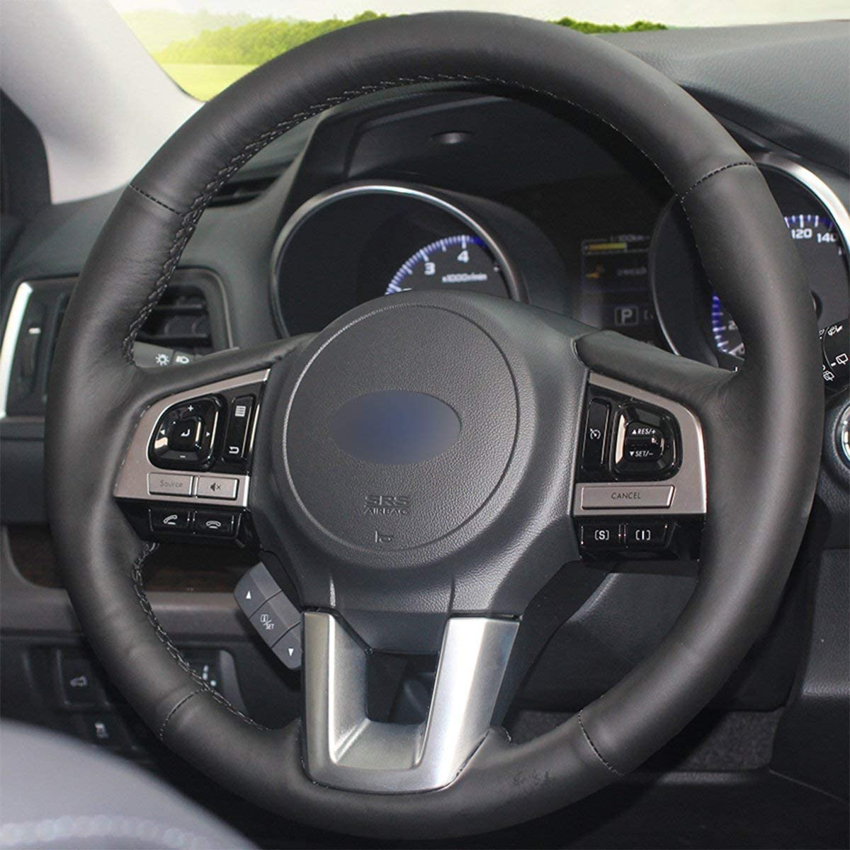 Subaru Liberty all Models Genuine Leather Steering Wheel Cover