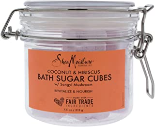 product image for Shea Moisture Coconut and Hibiscus Bath Sugar Cubes for Unisex, 7.5 Ounce