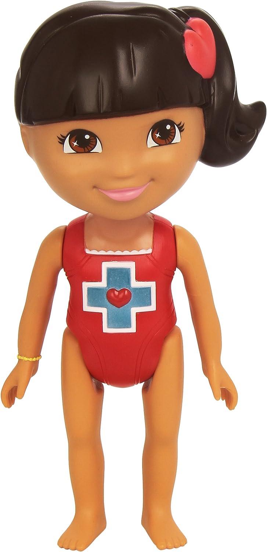 Dora la Exploradora - Muñeca de baño socorrista (Mattel Y1423 ...