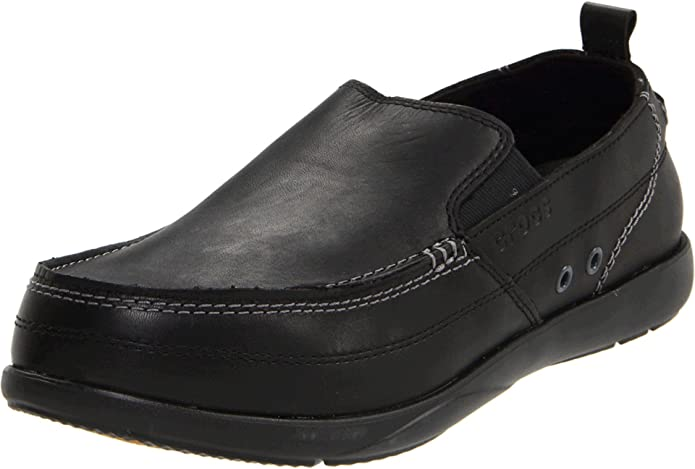 Crocs Harborline, Náuticos para Hombre, Negro Black, 40,5 EU: Amazon.es: Zapatos y complementos