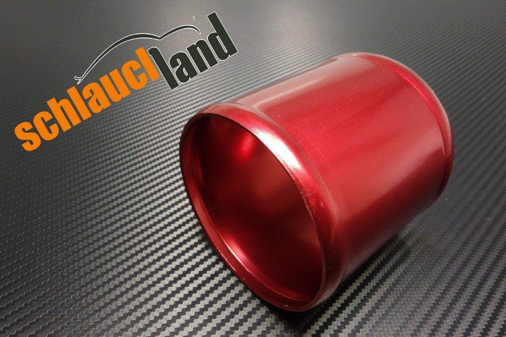 Alu-Verbinder AD 25mm alu poliert*** Alurohr Aluminium Rohr Alu Schlauchverbinder Turbo LLK
