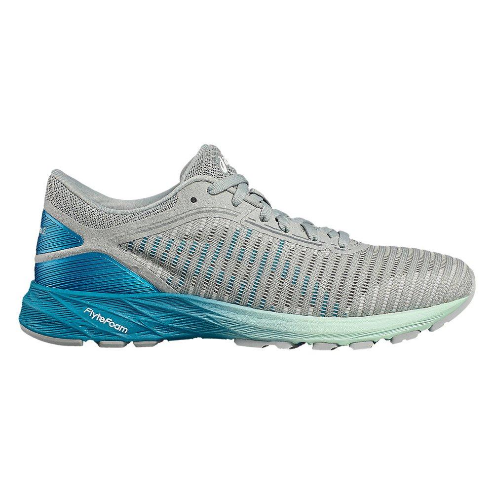 ASICS Women's Dynaflyte 2 Running Shoe B0744X7KL4 8.5|Md Grey/Aqua/Glacier