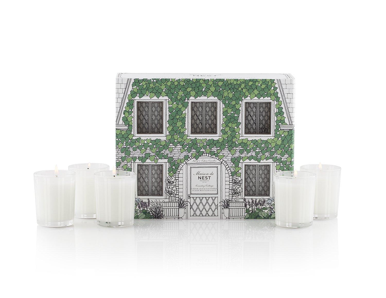 NEST Fragrances Maison de NEST Votive Candle Set - Country Cottage - 10 oz