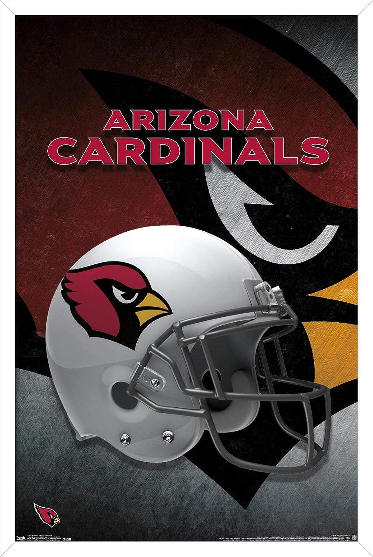Trends International NFL Arizona Cardinals - Helmet 15 Wall Poster, 14.725