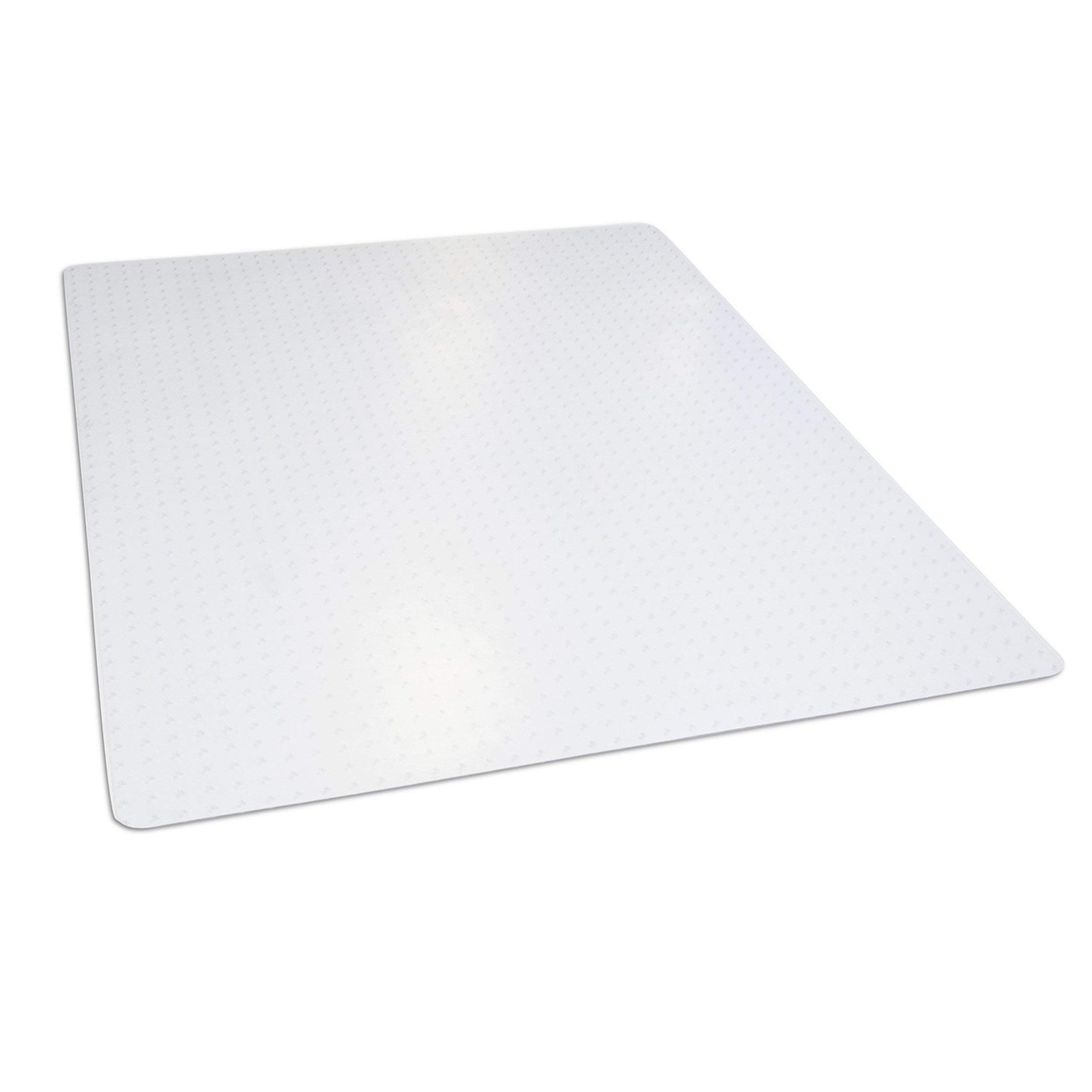 Dimex 46inx 60in Clear Rectangle Office Chair Mat For Low Pile Carpet, Made In The USA, BPA And Phthalate Free, C532001G (Renewed)