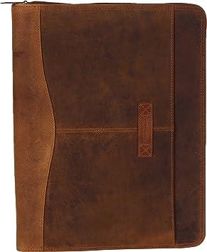 HAROLDS Antik//Antico Dokumentenmappe Ringbuchmappe