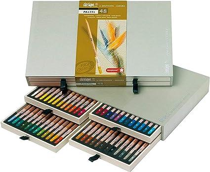 Bruynzeel Sakura - Caja 48 lápices pastel Bruynzeel: Amazon.es ...