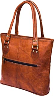 0ffc59e2306a Urban Leather 16 Inch Leather Tote Bag Christmas New Year Gift for Women  and Girls