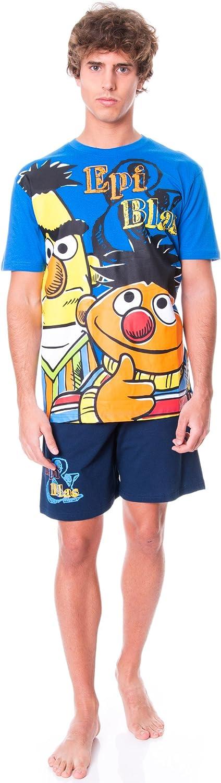 Madness Pijama Barrio Sésamo -Epi Y Blas- Azul 2XL: Amazon.es ...